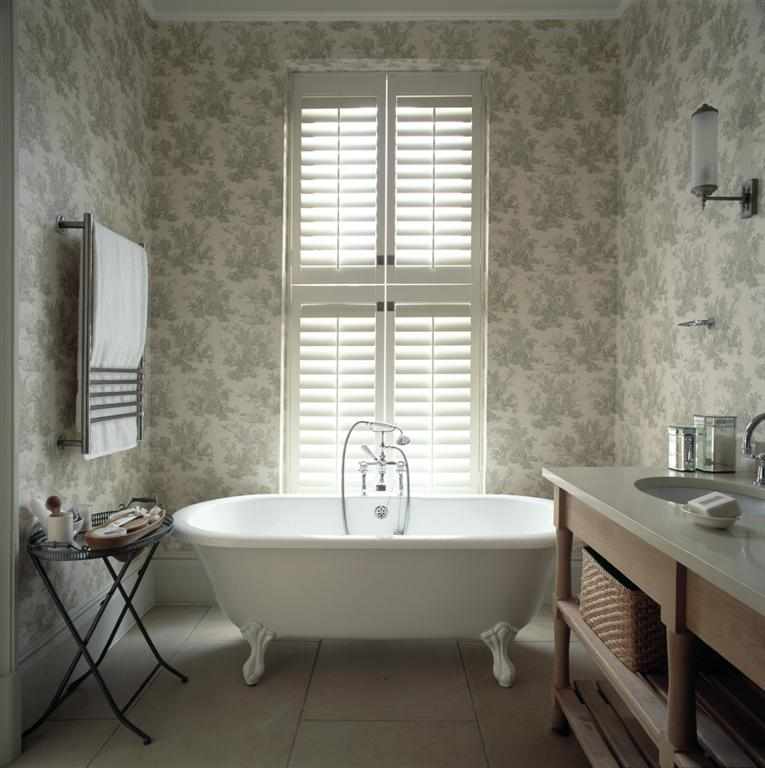 Shutters in de badkamer? | Shutters.nl | alles over shutters