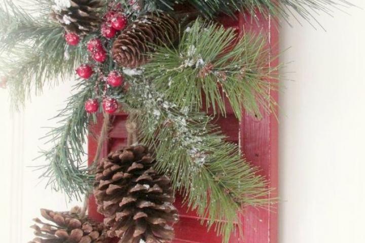Kerst DIY shutter