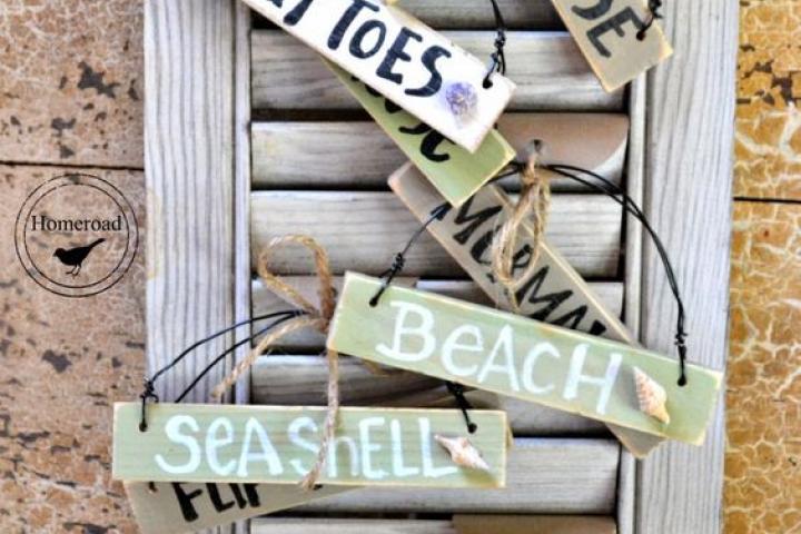 Beach shutters DIY